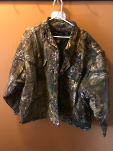 Realtree Button Up Jacket
