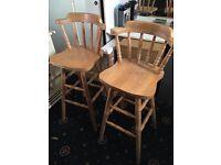 High chair or bar stool