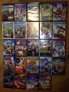 Kids DVDs and VHS movies- Disney planes, cars etc