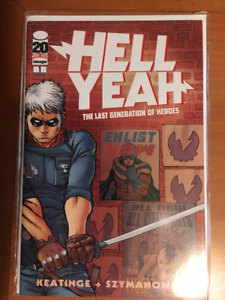 HELL YEAH #1 March 2012 Comic Book