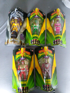 Legacy mmpr action figures