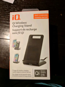 IQ Chargeur sans fil pour telephone - wireless charging stand