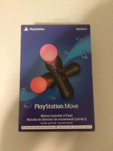 PlayStation Move Motion Controller 2 Pack
