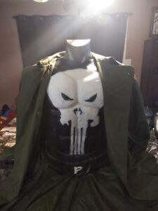 The PUNISHER Latex Body Armor Costume .