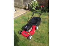 Mountfield hp470 lawnmower. Briggs and Stratton engine. Fully serviced mower