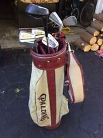 Golf bag and clubs- price reduced!