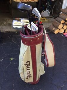 Golf bag and clubs Kitchener / Waterloo Kitchener Area image 1