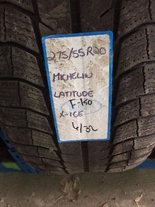 4 pneus Michelin X-Ice 2 hiver 275 55 20 grandeur F-150