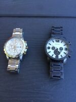 Two fossil watches