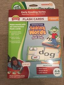 Leapreader phonics flashcards