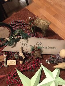 Christmas decorations rustic one of a kind Kitchener / Waterloo Kitchener Area image 6