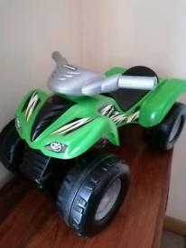 Toy motor bike