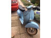1972 Vespa 90 Smallframe V5 In My Name Runs Mint