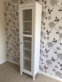 Ikea Hemnes glass door bookcase.