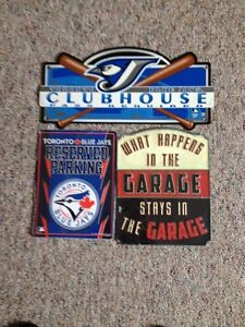 3 man cave signs