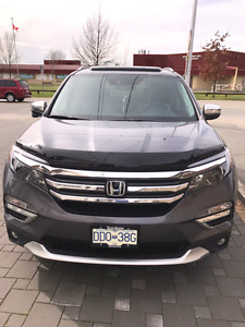 2016 HONDA PILOT EXL 9000KMS NO ACCIDENT MOVING OUT OF COUNTRY