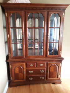 China Cabinet ,Dining Table and Chairs