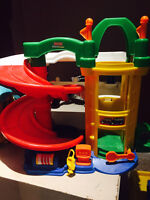 Fisher Price and Little People garages