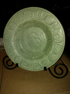 Native American Lyle Wilson Raven and light collectors plate