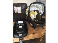 Cosatto car seat & isofix base