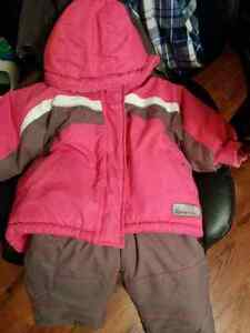 18 month two piece snowsuit  Kitchener / Waterloo Kitchener Area image 1