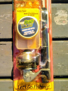 Fishing Kit: New Zebco Rod, Reel, Tackle + extra Tackle & Box