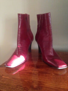 **Nine West Red Boots**