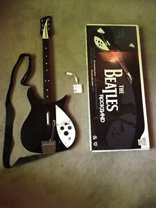 Beatles RockBand Wii Wireless Rickenbacker 325 Guitar & more