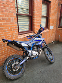 Yamaha wr 125cc 09 plate on of road