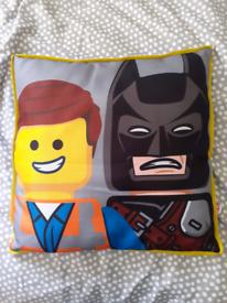 Genuine Lego Movie Emmett/Batman Still Awedome! Cushion
