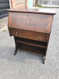 Vintage oak Escritoire, can deliver