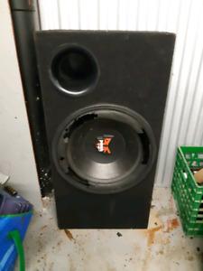 """Subwoofer box for 15"""" speaker $40"""
