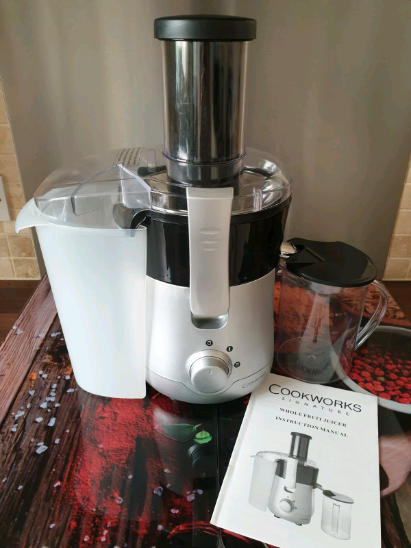 COOKWORKS SIGNATURE 600W Whole Fruit