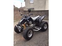 Apache 234cc Road Quad Bike Cheap insurance swap car or off road bike