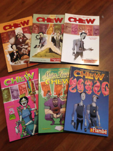 Chew Book Coloured Magazines  By John Layman, Rob Guillory