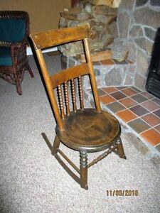 Antique Nursing Rocker from Ireland 150 + years old