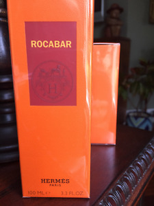 Retail SEALED HERMES Rocabar 100 ml Eau de Toilette Men's EDT