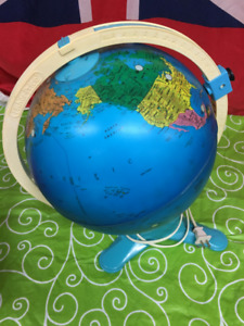 Vintage Fisher Price Discovery Lighted Globe