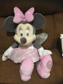 Disney Store Minnie Mouse Fairy Soft Toy