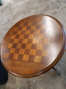 Chess board table for sale