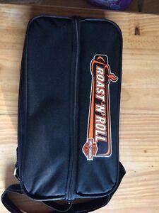 Harley Davidson Roast N Roll thermos set New