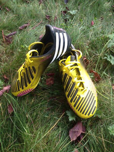 Soccer cleats sizes 6.5, 8 and 10