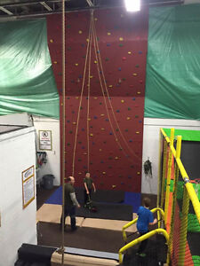 Rock Climbing, Ropes, Trampoline Centre! Awesome Fun!