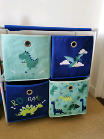 Kids storage wardrobe drawers