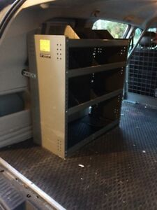 van shelves