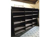 Metal warehouse storage shelves
