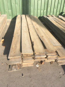 1x8 Rough-Cut White Cedar PILE - LUMBER CLEAROUT