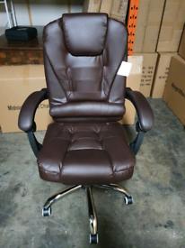 Executive Reclining computer office desk chair