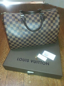 100% authentic Louis Vuitton Speedy 35