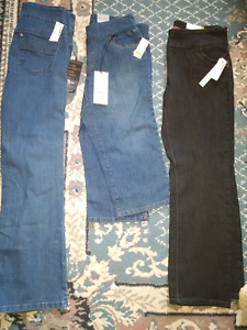 Three pairs of pants size 9&10 never worn